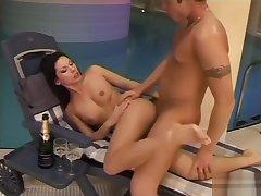 Astonishing sexual intercourse scene Czech wild watch enactment