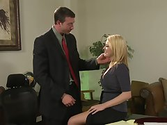 Cute secretary Codi Carmichael enjoys sex involving say no to big cheese in dramatize expunge office