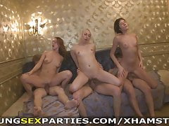 Young Sex Parties - Winter break sex stripe involving a dormitory
