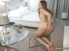 Akira May in She Likes To Cum - Nubiles