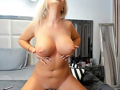 Hot blonde nude live work out say no to obese boobs and obese ass