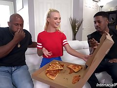 Lana Sharapova interracial gangbang sex video