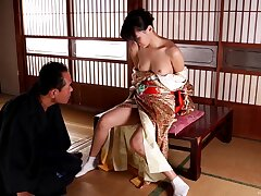 Handsome Japanese chick Aoi Tsukasa gets fucked by her lover