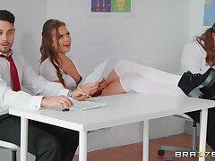 Spoiled schoolgirl Stacy Cruz seduces her big-dicked teacher Danny
