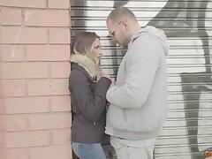 Nacho Vidal bangs chap-fallen feet of one pretty stranger teen