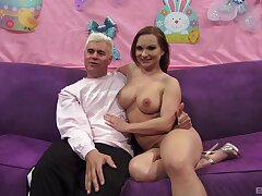 Deep sexual respect with a MILF simple English  casting scenes