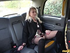 Polish blonde escort fucked